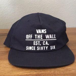 NWOT VANS adjustable hat